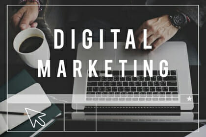 Digital Marketing Agency - laptop screen