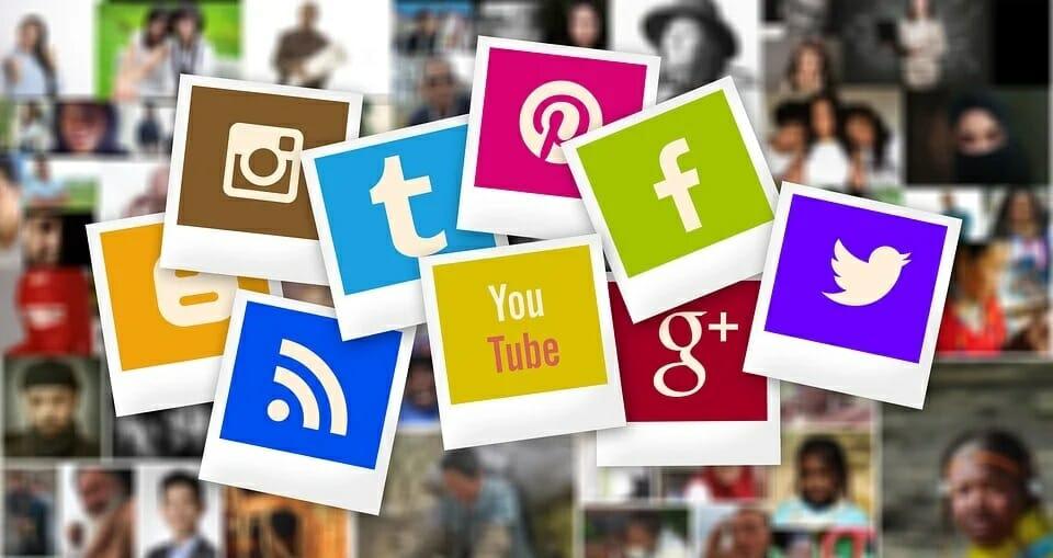 different social media platforms